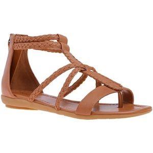 Nine West brown gladiator style sandal Kygo